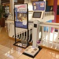 Collin Creek Mall BodySpex Body Fat Scale