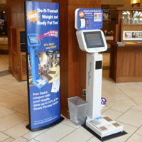 Lakeside Mall BodySpex Body Fat Scale